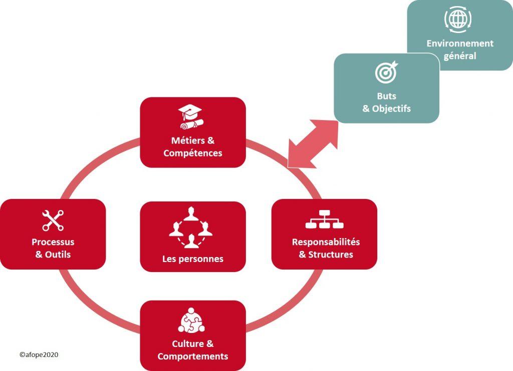 Les 7 composantes du modèle d'organisation